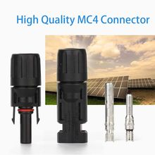 Impermeable IP67 durable MC4 TUV de alta calidad para panel solar plegable kit solar portátil generador solar cable conector final(China)