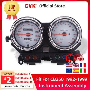 цена на CVK instrument assembly speedometer odometer tachometer For HONDA Hornet CB250 hornet250 1992 1993 1994 1995 1996 1997 1998 1999