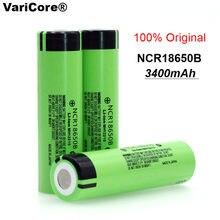 2020 100% nowy oryginalny NCR18650B 3.7v 3400 mah 18650 akumulator litowy do baterii latarki