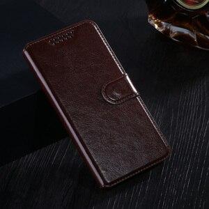 Carteira de couro para lg l9 caso saco do telefone móvel capa com suporte de cartão caso estilo vintage para lg optimus l9 p760 p765 p768