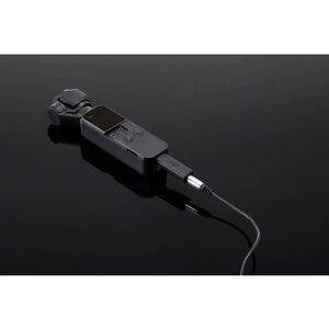 Image 5 - Карманный адаптер 3,5 мм DJI Osmo для карманной камеры DJI Osmo, профессиональный аксессуар для записи, Поддержка внешнего микрофона 3,5 мм