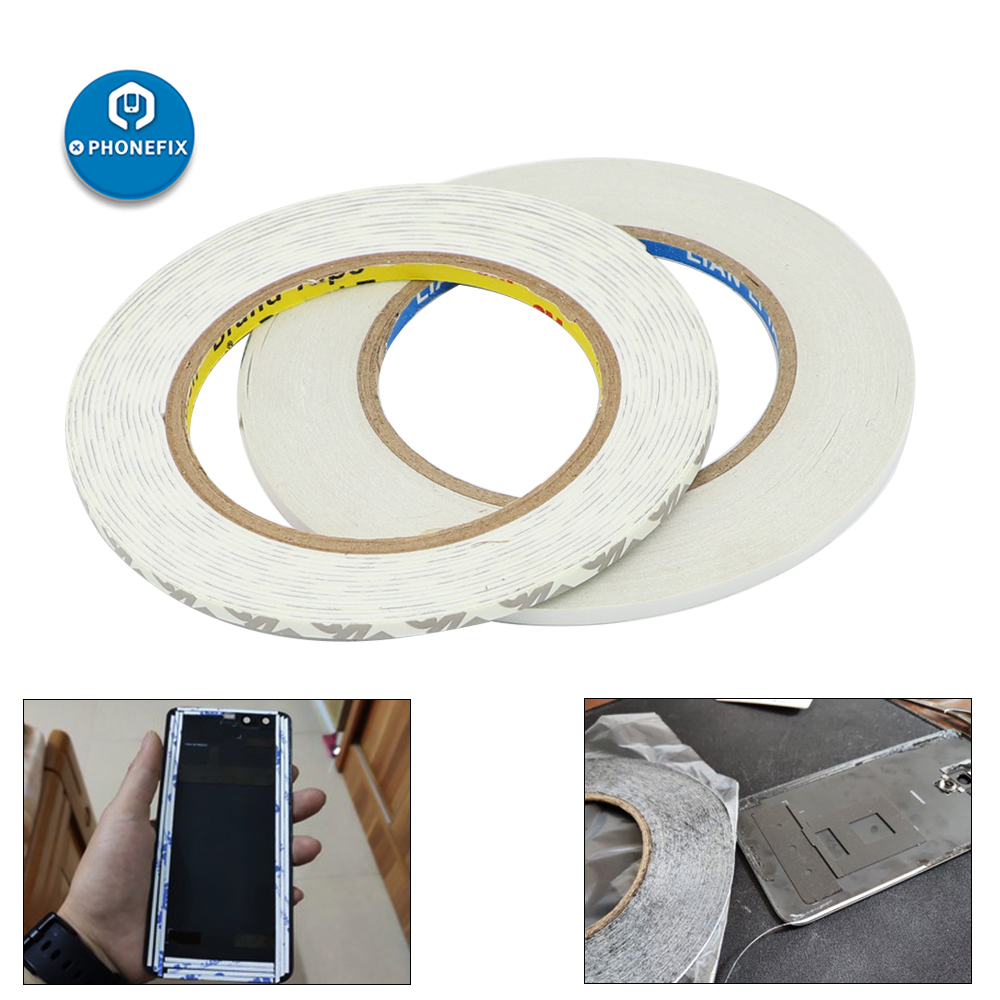 3M Tape Double Side Tape White Adhesive Super Sticky Screen Sticker Laptop Computer Macbook Mobile Phone Repair DIY Hand Tools