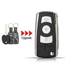 Kutery Upgrade Folding Auto Schlüssel Shell Für Kia Carens3 Für Hyundai Avante HD 3 Tasten Remote Key Fall Fob Abdeckung links Klinge