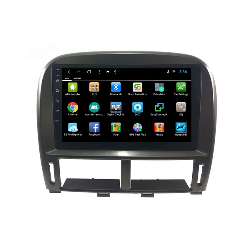 For Lexus LS430  XF30 1997 2000~2006 Original Style Android multimedia player Car touch screen GPS Navigation Support 7