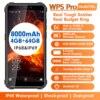 OUKITEL WP5 Pro Smartphone IP68 Waterproof 4GB 64GB Mobile Phone 8000mAh Android 10 Triple Camera Face/Fingerprint ID 5.5 inches
