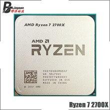 AMD Ryzen 7 2700X R7 2700X 3,7 GHz Acht Core Sechzehn Gewinde 16M 105W CPU Prozessor YD270XBGM88AF Buchse AM4