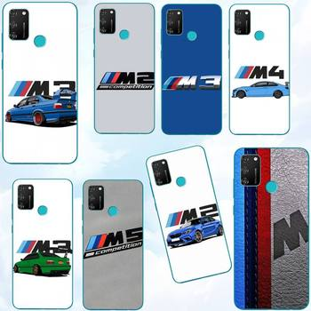 Huawei Case luxury designer bmw case for huawei p20 p30 p40 pro mate 10 20 30 pro lite p smart y7 2019 plus nova 3I cases cover image