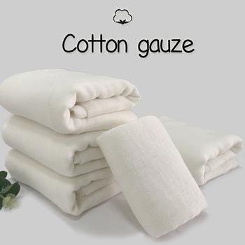1*0 88m bawełniany materiał do szycia z gazy bez fluorescencyjnej pielucha dla niemowląt wyposażeniem ochronnym tanie i dobre opinie siyifang wyszywana CN (pochodzenie) Puchoszczelny cott none Inna tkanina W jednym kolorze Bez wzorków cotton gauze