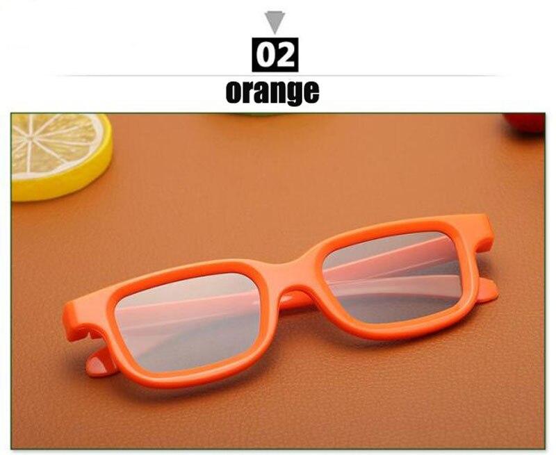 45 135 graus Linear Polarizada 3D Óculos para Crianças