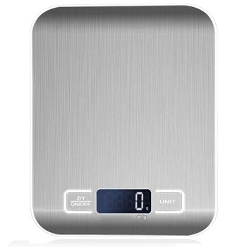 Кухня электронные весы Еда весы Нержавеющаясталь Кухня Еда весы электронные весы, принимает массу весом до 5 кг/10 кг дропшиппинг