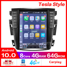 GPS J31 Teana Car-Radio Carplay 4GB for J31/2003-2007/230jk/230jm with 64GB Octa-Core-Ram