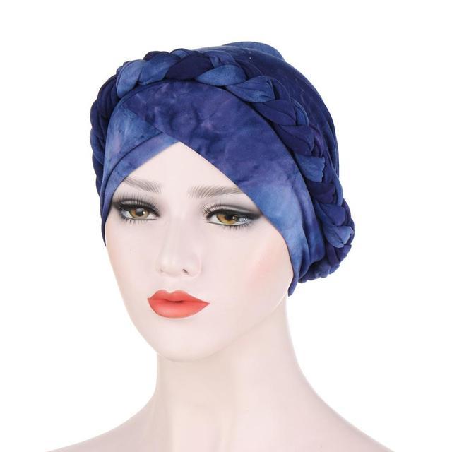 Фото мусульманские женщины крест шелковистая коса тюрбан шляпа головной