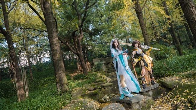 【Cosplay】《剑网3》叽萝&琴萝
