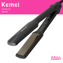 Kemei professional hair straightener straightening iron ceramic curling irons styling tools ionic women flat iron curler fmk professional curling iron hair dryer hair straightener 3 in 1 styling tools set white flat irons wand curler european plug