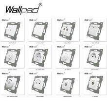 DIY ЕС функциональный ключ для модуля белый кнопочный переключатель и розетка с когтями монтажный Wallpad L6 серии