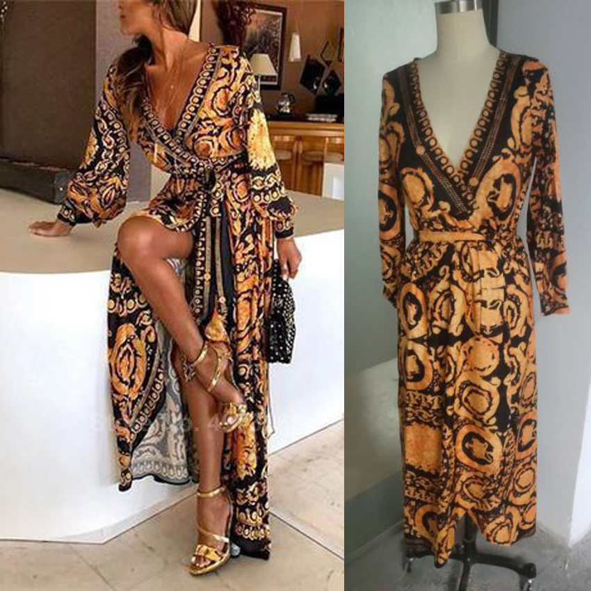 Luxury 3D Print Loose Style Plus Size Muslim Abaya Dress For Women Lady's Islamic Dubai Saudi Arab Fashion Outfits Vestidos