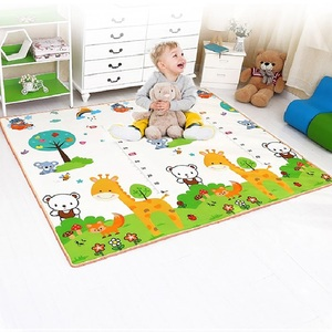 Double Surface Children Game Carpet Kids Room Mat For Baby Playpen Baby Carpet Baby Playmat For Fence Children Game Pad