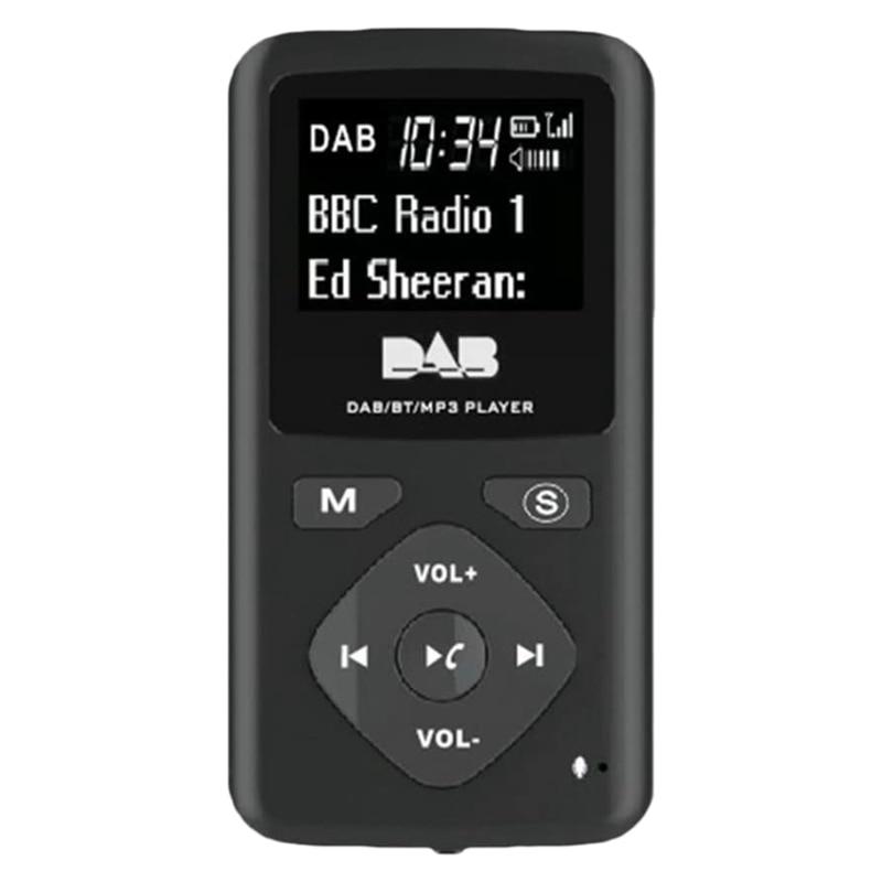 rádio digital bluetooth 4.0 bolso pessoal fm