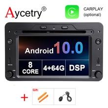 DSP 4G 64G Android 10 Car DVD GPS For Alfa Romeo Spider Alfa Romeo 159 Brera 159 Sportwagon RADIO stereo auto navigation stereo