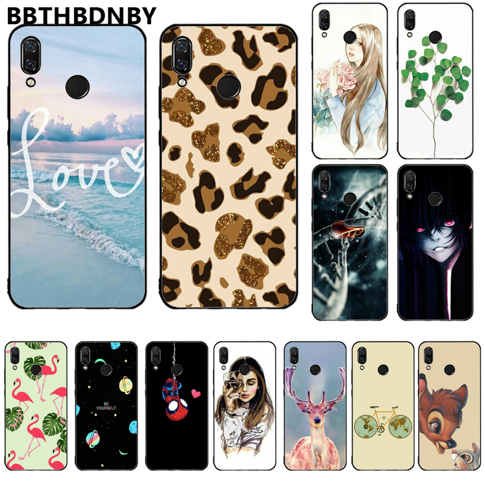 For Redmi note 7 Fundas bumper paiting TPU or Redmi note 7 Soft Silicone Phone Case Russian version Cover For Redmi note 7