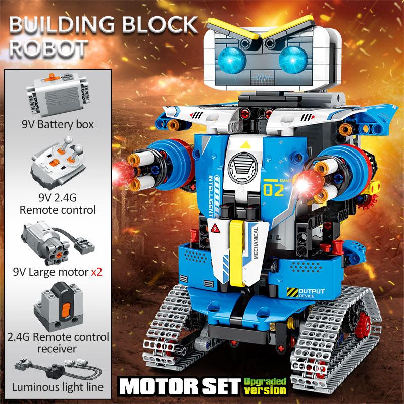 SEMBO Block RC Robot Transformation Racing Car Building Blocks
