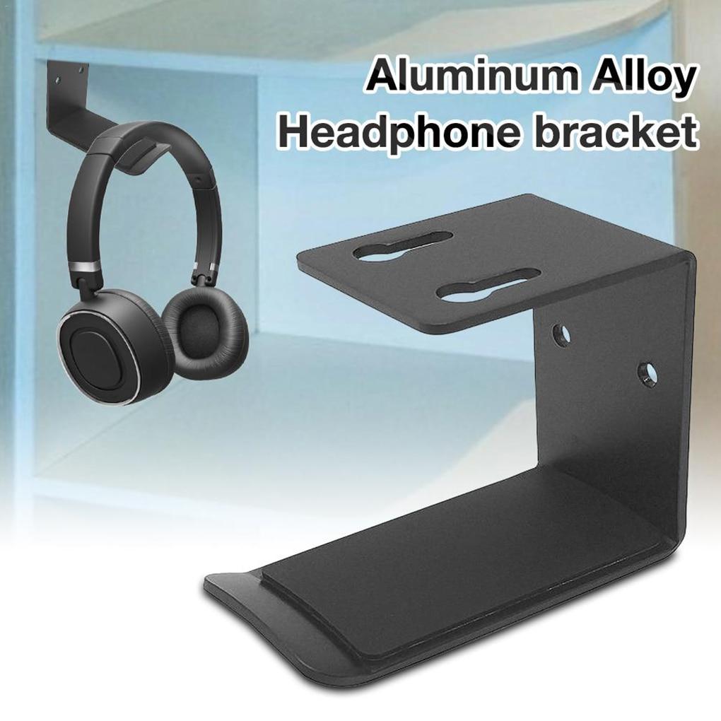 Holder Wall Mount Headset Holder Headphone Hanger Stand Desk Display Stand Bracket Hanging Earphone Wall Hook Rack Accessories