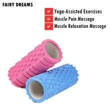 EVA Yoga Spalte Fitness Pilates Hohl Foam Roller Blöcke Zug Gym Massage Therapie Physio Übung(China)