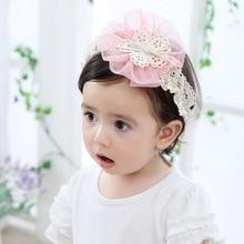 hair accessories for baby girl vintage headband korean best selling 2018 fashion children floral headbands kids 2019 pink