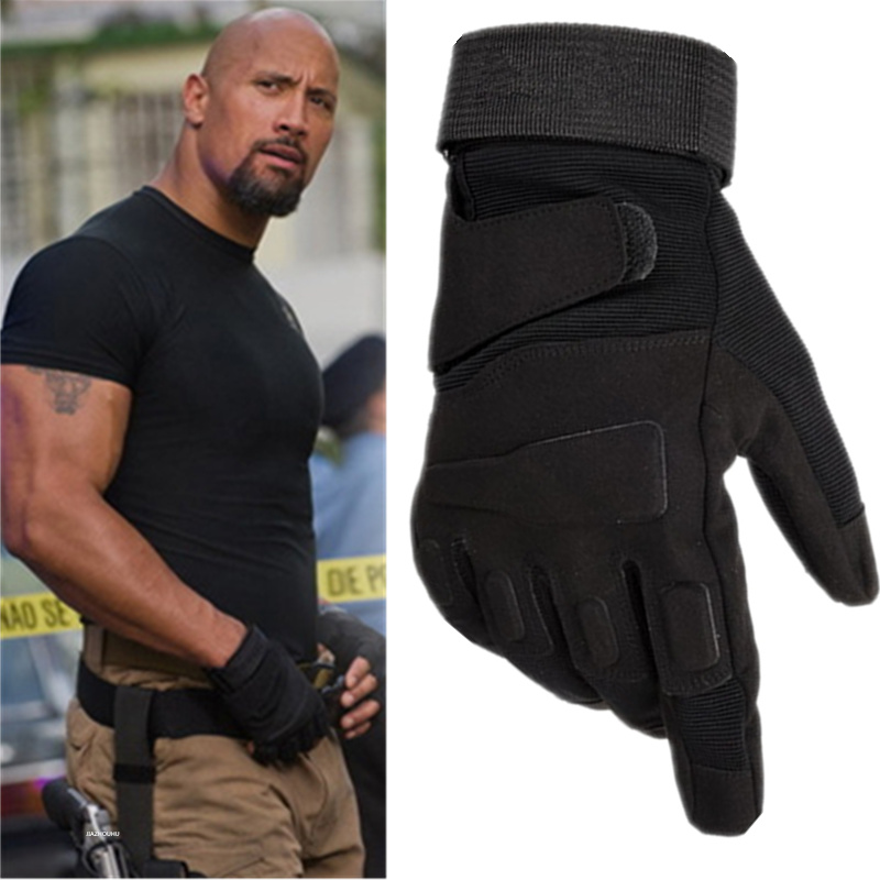 Men's Tactical Gloves Military Army Police Paintball Full Finger Winter Gloves Men Women Outdoor Sport Combat Tactical Gloves
