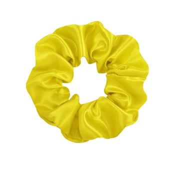 3.9 inch Women Silk Scrunchie Elastic Handmade Multicolor  Hair Band Ponytail Holder Headband Hair Accessories 38