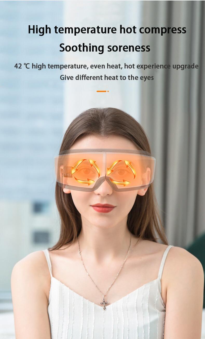 Massage et relaxation des yeux