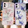 Gorgeous Clear Glitter Butterfly Soft Shockproof Phone Case For iPhone 12 Mini 11 Pro Max XS Max XR X 6s 7 8 Plus SE Cute Shell