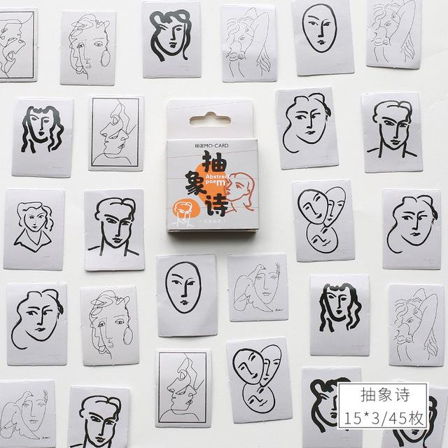 """46 шт./упак. с романтическими цветами цветение наклейка для скрапбукинга """"сделай сам"""" фотоальбом Декор Diy дневник альбом ярлыком Скрапбукинг Стикеры - Цвет: D"""