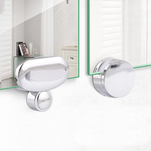 4PCS Wall Mount Frameless Mirror Clip Glass Clamps Bathroom Mirrors Supporting Thickness:3-5mm
