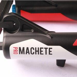Image 4 - Manitou MACHETE PRO 26er 자전거 자전거 MTB 서스펜션 에어 포크 스트레이트 블랙 화이트 블루 업그레이드 R7 PRO Machete pro 26er