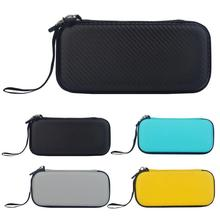 Alloyseed eva transportar saco de armazenamento bolsa casca dura apto para nintend switch lite console mini confortável proteção ambiental