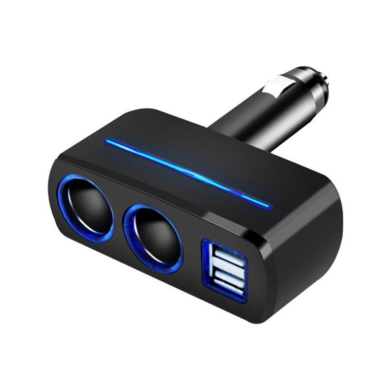 ACCNIC universel 2 voies voiture Auto allume-cigare double USB chargeur prise adaptateur secteur 2.1A/1.0A 80W répartiteur chargeur 12V