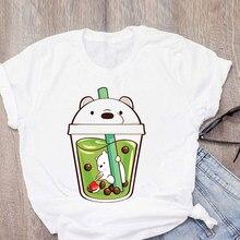 Plus Size Tshirt funny Panda Print T-shirt Women Shirts O Neck Short Sleeve Summer T-Shirt Tops Casual Tshirt Women Clothes Tops