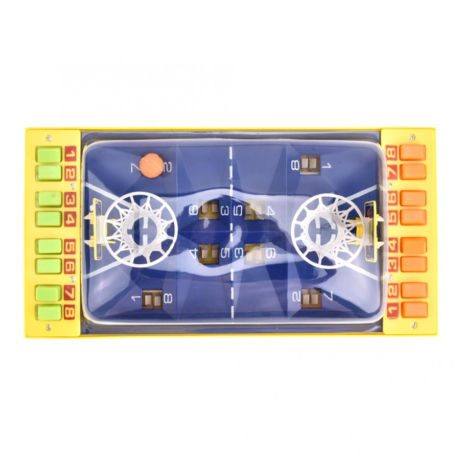 Мини баскетбольные настольные игры портативные настольные катапульты с двойной кнопкой выталкивание корт для родителей и детей Интеракти...