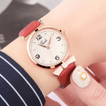 Women's Watch Luxury Brand Minimalism Women Leather Band Analog Quartz Wristwatch Ladies Fashion Casual  Dress Clock reloj mujer dwg brand slim blue watch bracelet quartz watch for women waterproof pu leather rhinestone analog wristwatch classy ladies reloj