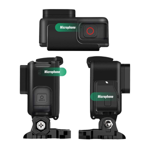 Image 3 - עבור GoPro 7 אבזר ערכת הגנת מסגרת עדשה + LCD מסך מזג זכוכית סרט עבור ללכת פרו גיבור 5 6 7 פעולה מצלמה