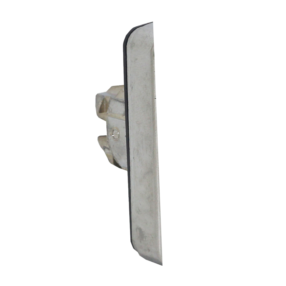 Купить с кэшбэком Push button type double switch ZB4BL7341 green flat head red Convex headband logo rectangular power button switch