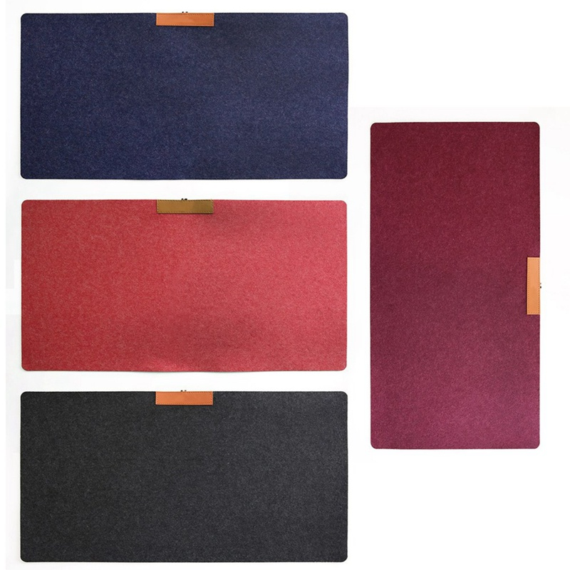 700*320mm Large Office Computer Desk Mat Modern Table Keyboard Mouse Pad  Non-slip Wool Felt Laptop Cushion Desk Mat Gamer Mat