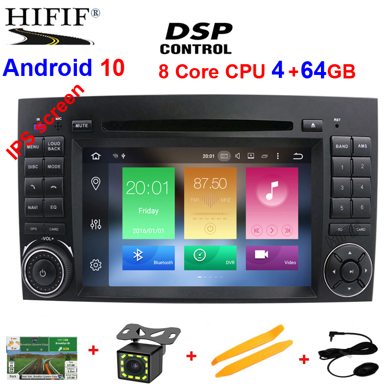 DSP Android 10 4G/2G IPS 2 din DVD PLAYER Fü<font><b>r</b></font> Benz Sprinter B200 W209 W169 W169 W245 b170 Vito W639 Viano Sprinter <font><b>Crafter</b></font> LT3G image