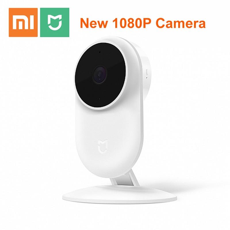 Оригинальный Xiaomi Mijia новейшая 1080P ip-камера 130 градусов FOV ночного видения 2,4 ГГц двухдиапазонный WiFi Xiaomi домашний комплект монитор безопасност...
