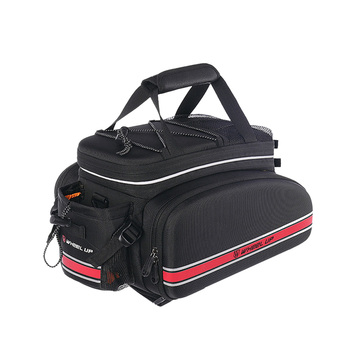 Large Capacity Bag Creative Outdoor Durable Back Seat Bag Cycling  Rear Bag Sports Supplies for Men Women Boys