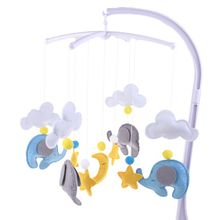 Bed Bell Hanging-Decorations Mobile Baby Rattles-Toys Handmade Kids Children DIY Wind-Chimes