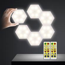DIY możliwość przyciemniania światła podszawkowe LED Touch Led krążki świetlne szafy bateryjne lampka nocna z pilotem do szafy łazienkowej tanie tanio KZKRSR 50000hours DIY remote control night light Suche baterii 4000K nature white