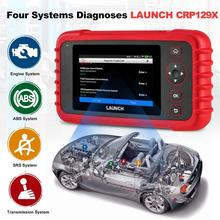 LAUNCH CRP129X OBD2 Scan Tool Android Based OBD2 Scanner 4 System Diagnoses Oil Reset EPB/SAS/TPMS Automotive Tool