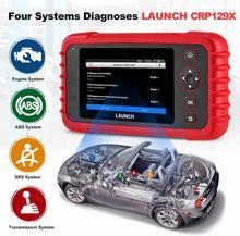 Lansmanı CRP129X OBD2 tarama aracı Android tabanlı OBD2 tarayıcı 4 sistemi teşhis yağ sıfırlama EPB/SAS/TPMS otomotiv aracı